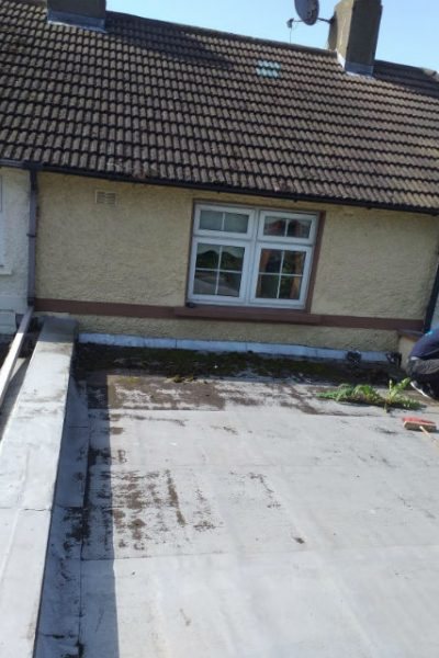 Flat Roof Repairs South Dublin Before